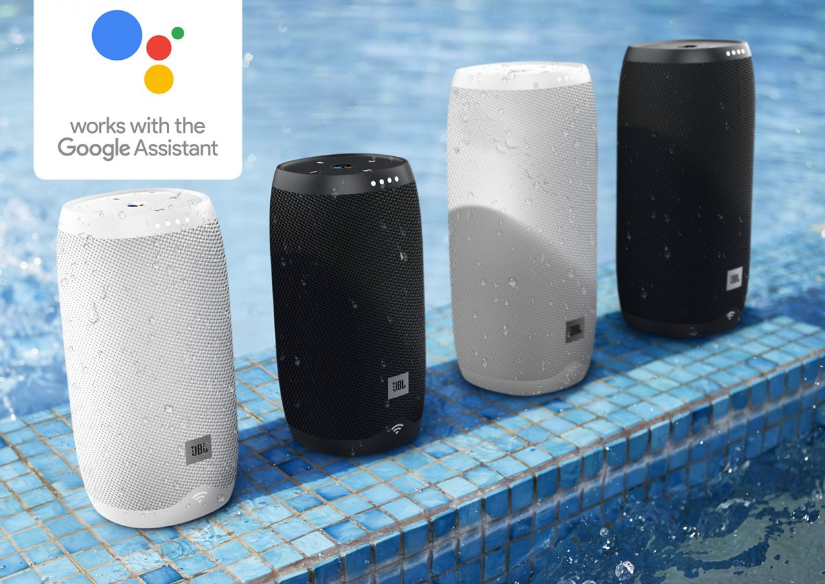 JBL Link Series Google Voice Activated Speakers: Hands On