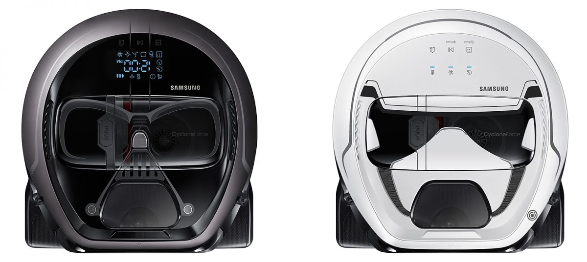 Samsung's Star Wars POWERbot Robot Vacuums!