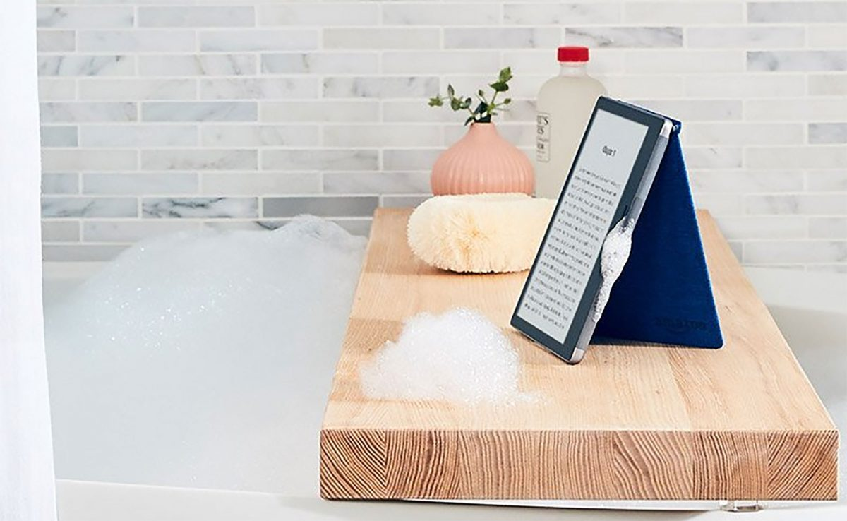 Amazon Oasis: the New Waterproof Kindle is Here
