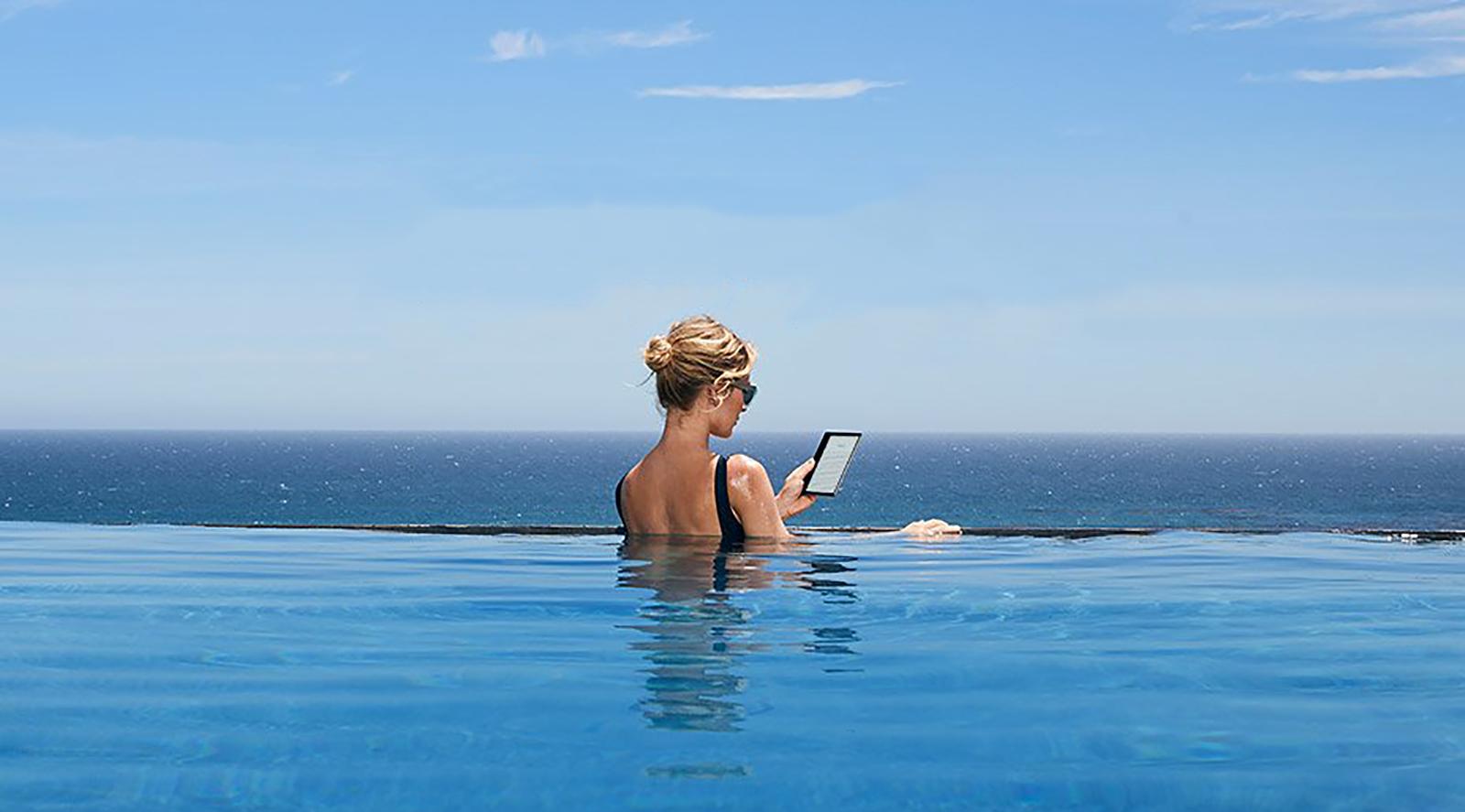 Amazon Oasis: the New Waterproof Kindle is Here