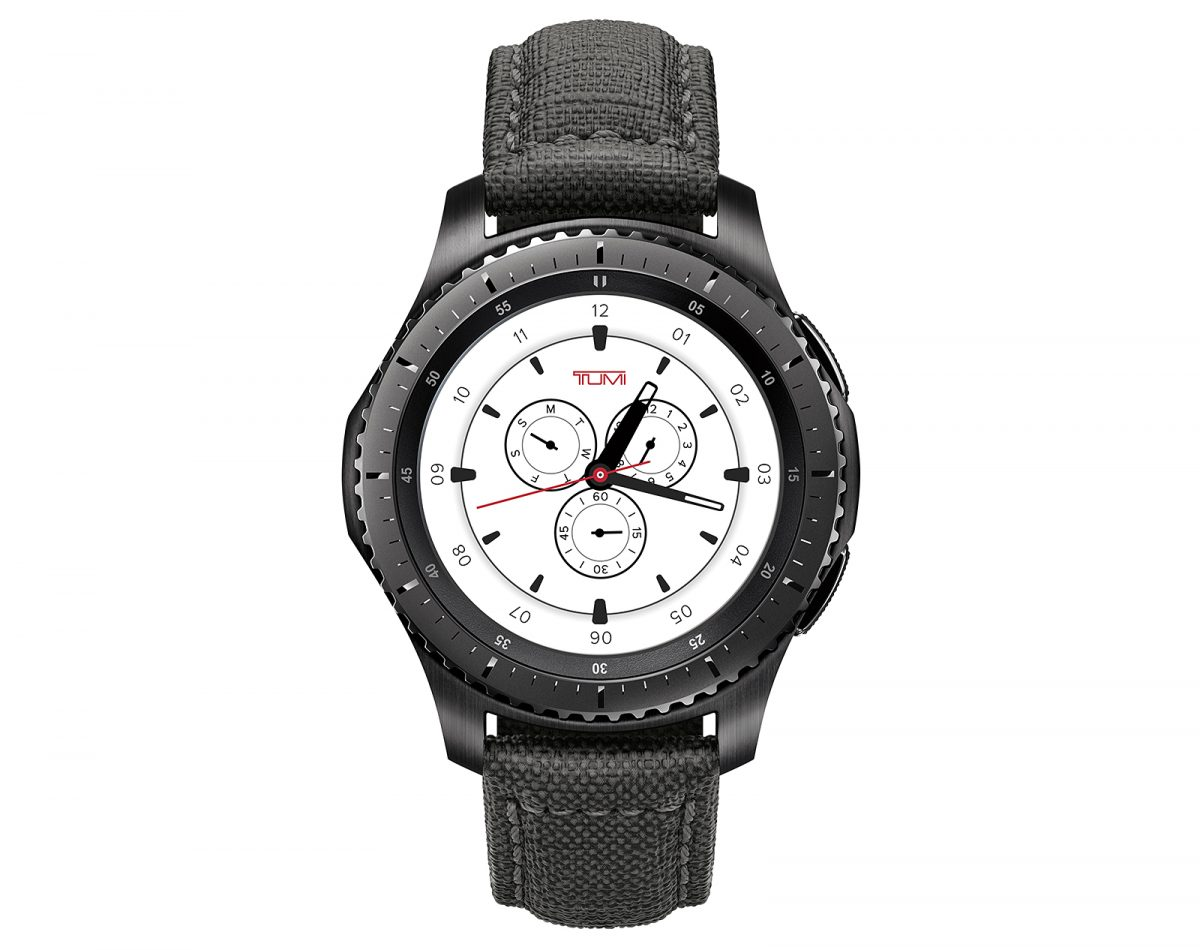 Samsung and TUMI introduce Gear S3 Frontier Special Edition