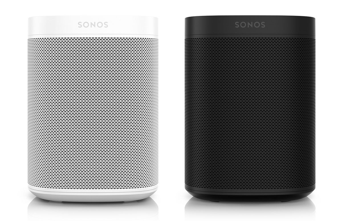 Sonos Unveils the Sonos One Voice Controlled Speakers