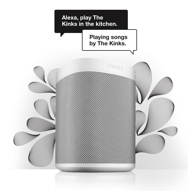 Sonos One Announcement